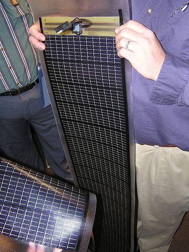 Pliable residential solar panels…