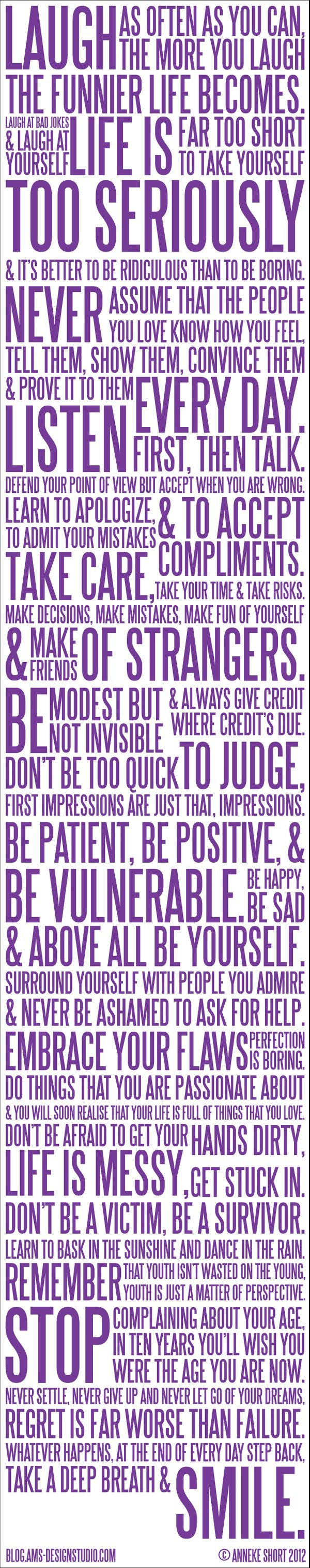 Just Brilliant | 'Just. Be. #Happy'