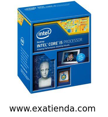 Ya disponible Cpu Intel s 1150 core i5   (por sólo 194.95 € IVA incluído):   -Socket soportado: LGA 1150 -Cache: 6MB -Numero de nucleos:4 -Conjunto de instrucciones: 64-bit -Velocidad de Reloj: 3,0 GHz (turbo 3.2GHz) -Bus del Sistema: -- -Arquitectura: 22 nm -Intel Graphics:Intel HD Graphics 4600 -Formato:BOX      Garantía de 24 meses.  http://www.exabyteinformatica.com/tienda/772-cpu-intel-s-1150-core-i5-4430-3-ghz-box #intel #exabyteinformatica
