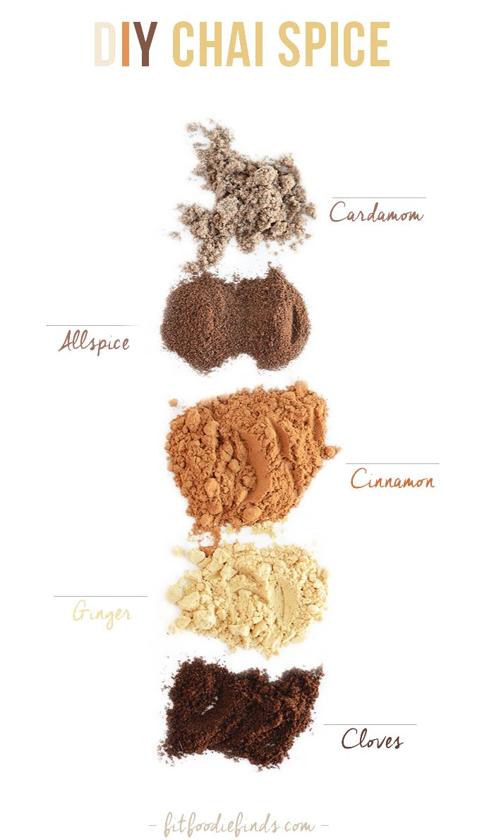 Make your own Chai Spice with just a few simple ingredients!