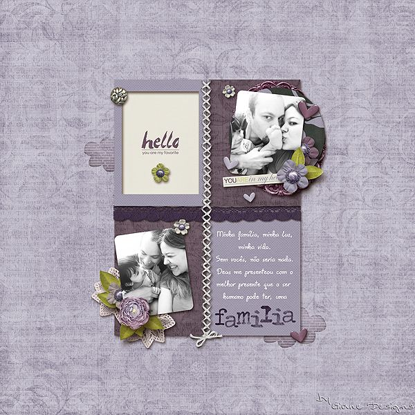 CREDITS: So Precious Kit by Just Because Studio The Tuesday Templates 13 by Megan Turnidge Designs Font Gisele Script Photo: Me, my love and Nicolle