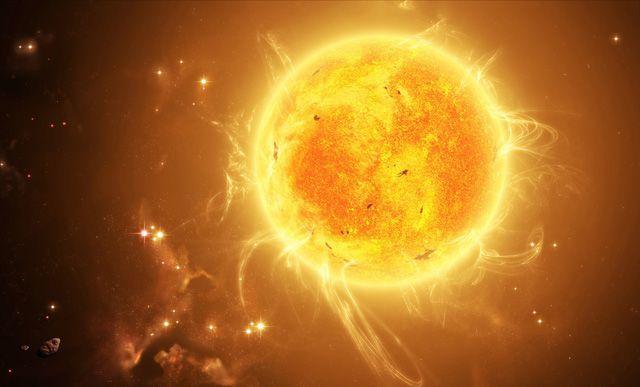 Eine stabil strahlende Sonne ist für das Leben auf der Erde unentbehrlich, doch in rund fünf Milliarden Jahren wird der Wasserstoffvorrat im Kern der Sonne erschöpft sein und sie wird sich zu einem…