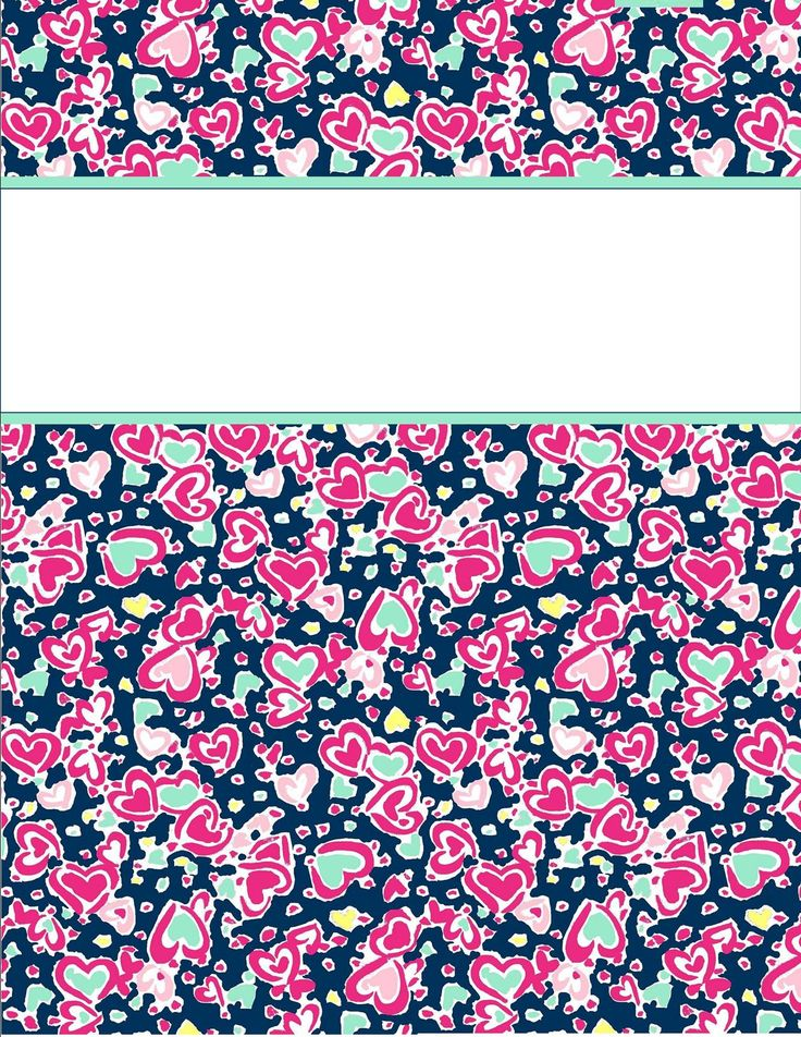cute floral binder covers
