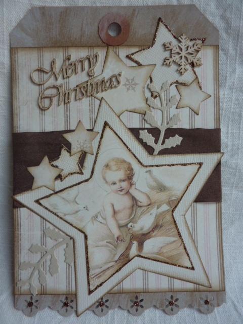 Weihnachtstag Stars