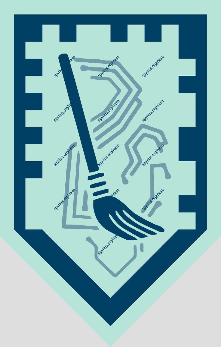 LEGO Nexo Knights Power - Clay - Broom of Doom | spyrius.org