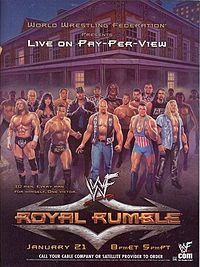 wwf wrestling poster art pictures | Royal Rumble Poster 2001I was on tv for this