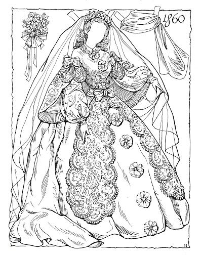 bride dolls paper dolls coloring book adult coloring coloring sheets picasa web drawing art doll party victorian