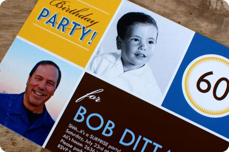 cute b-day invite from shutterfly