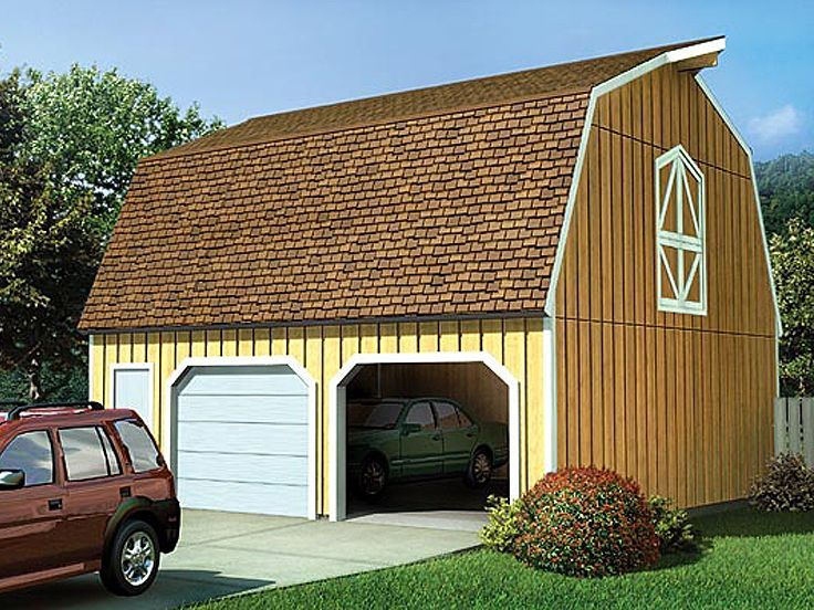Best 34 Best Garage Plans With Gambrel Roofs Images On 400 x 300