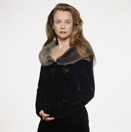 """Emily Watson Fur Collar by Terry O'Neill  English actress Emily Watson, circa 1995.  Limited Edition C-Print Signed and Numbered Sizes:  16"""" x 16"""" / 20"""" x 20""""  24"""" x 24"""" / 30"""" x 30""""  40"""" x 40"""" / 48"""" x 48"""" / 60"""" x 60"""" / 72"""" x 72""""  For questions or prices please contact us at info@igifa.com      IGI FINE ART"""