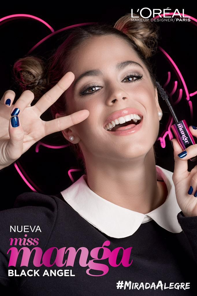 From now on I'm going to use just this mascara if Tini has it i will too becuse Tinniii is my vidaaa♡♡♡♡♡♡