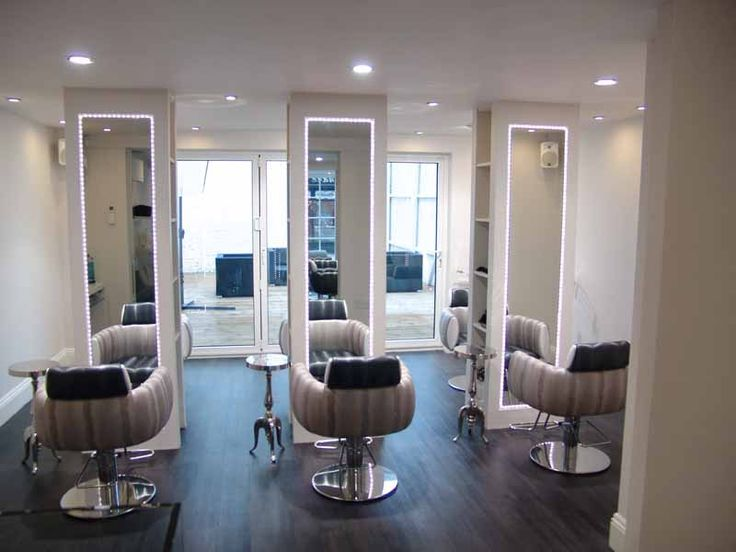 Home hair salon teytey pinterest more salons ideas - Decoration mural salon ...