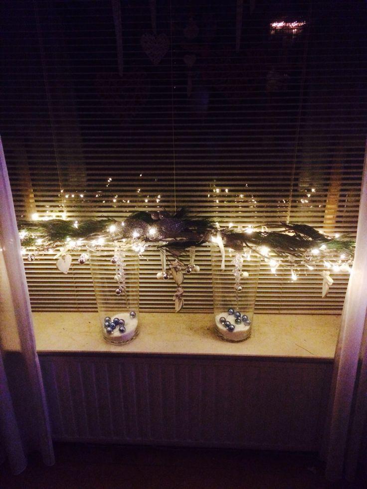 Kerst voor in de vensterbank