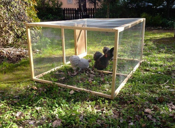 Les 25 meilleures id es de la cat gorie enclos poules sur pinterest - Enclos a poule ...