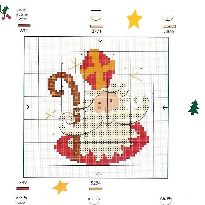 Point de croix *♥* Cross stitch - St. Nick