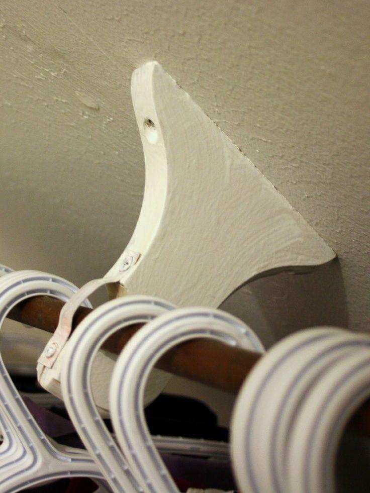 how to mount curtains on slanted ceiling   Found on heatherathomeinthetownships.blogspot.com
