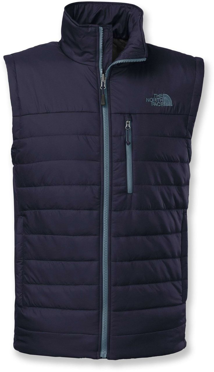 The North Face Red Blaze vest features exceptionally warm PrimaLoft® Eco insulation and zip-in compatibility with shells. #REIGifts