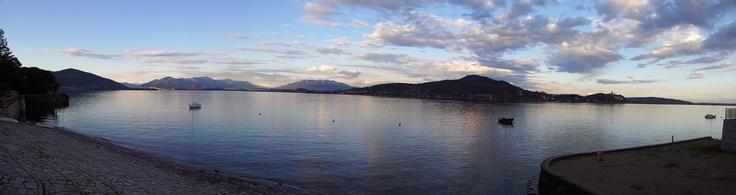 #Meina (#LagoMaggiore, #Novara, #Piemonte, #Italy) #sunset