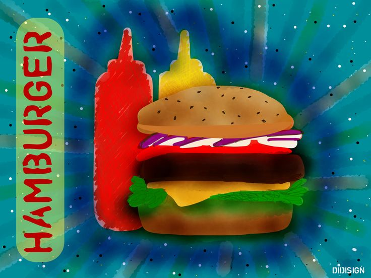 Hamburger by DIDISIGN