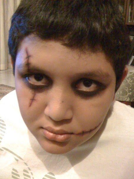 Best 25+ Simple zombie makeup ideas on Pinterest   Zombie ...