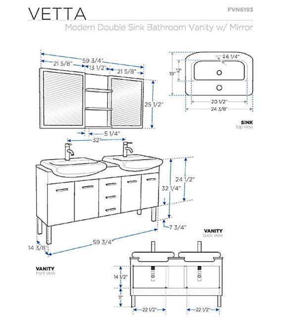 Using The Standard Washbasin Height Bathroom Dimensions Bathroom Vanity Sizes Buy Bathroom Vanity