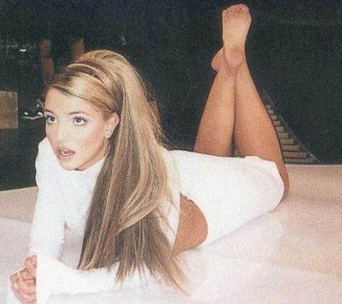Britney Spears back in the day.