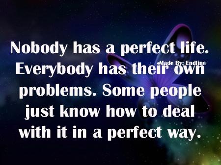 Nobody has a perfect life!: Soo True, Perfect Life, Funny Stuff
