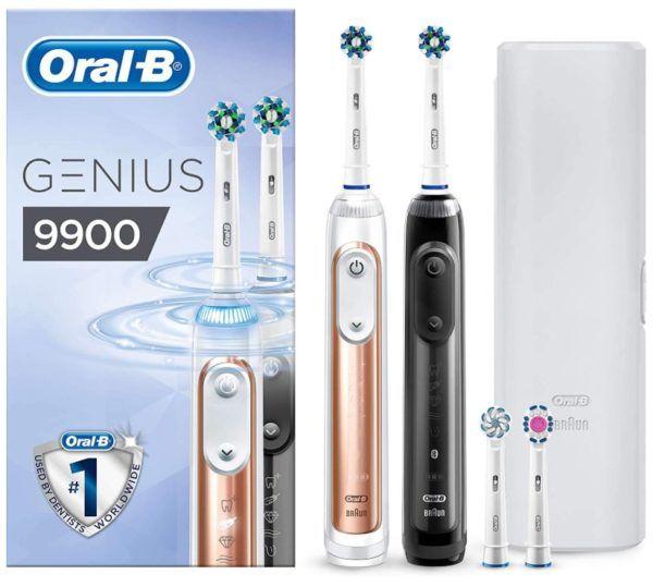 Chollo Set De Cepillos De Dientes Electrico Oral B Genius 9900
