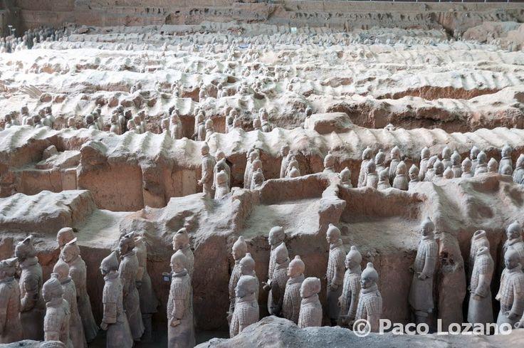 Fotos de viajes en Viajesyfotos: Xi'an y el ejército de terracota