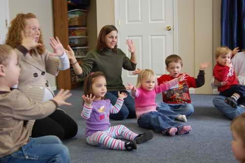 Tons of fingerplays and rhymes at this site: http://www.preschoolrainbow.org/preschool-rhymes.htm