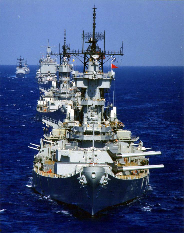 Nuclear Cruisers And Battleships: Check Out This Reagan Era Navy Photo