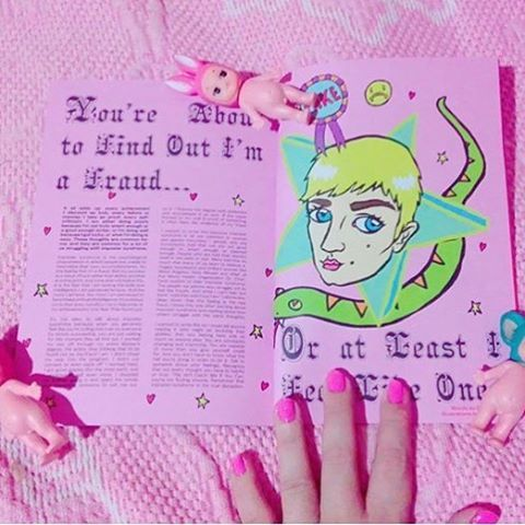 "383 Likes, 8 Comments - Polyester zine (@polyesterzine) on Instagram: ""💖 RG @ninfulana of @ceedling's issue five agony aunt column 💖💞💐 Get your copy of our fifth zine…"""