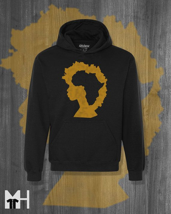 Fro Africa Sweatshirt Hoodie African Clothing Black History Black Lives Matter Kwanzaa gifts Afrocentric clothing Cyber Monday Christmas