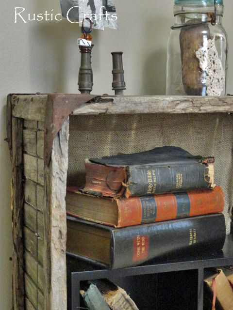 15 DIY Crate Bookcase IdeasModern Home Interior Design. Find This Pin And  More On Junk Style Decorating Ideas ...