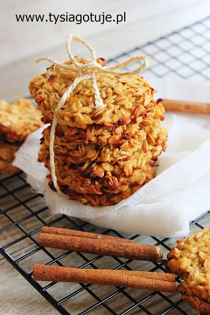 Dietetyczne ciasteczka owsianem prosty przepis