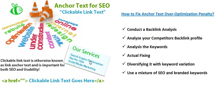 What is Anchor Text Over-Optimization Penalty? How to Fix That? - See more at: http://www.blog.prologicwebsolutions.com/anchor-text-over-optimization-penalty-fix-that