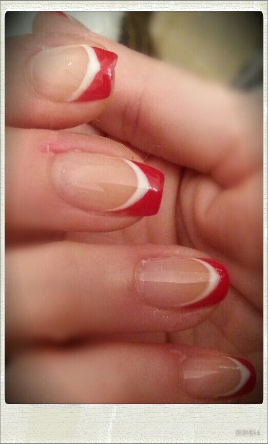 Red and white french
