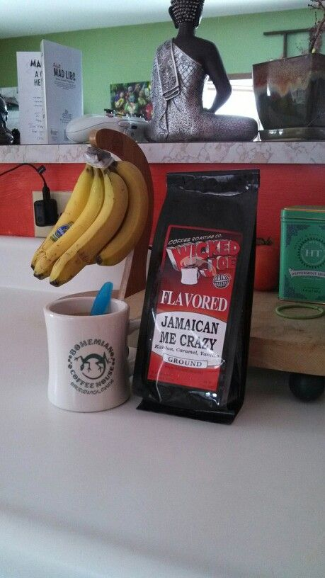 Jamaican me crazy coffee- certainly one of the best flavors!