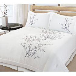 Lightning Branch 3-piece King-size Comforter Set