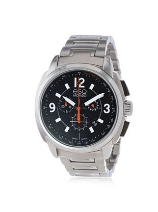 50% OFF ESQ Movado Men's 07301415 Excel Silver/Black Stainless Steel Watch