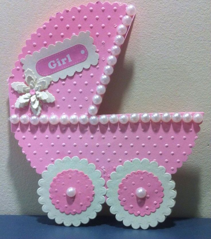 Baby Girl Card / RellB The Craftree