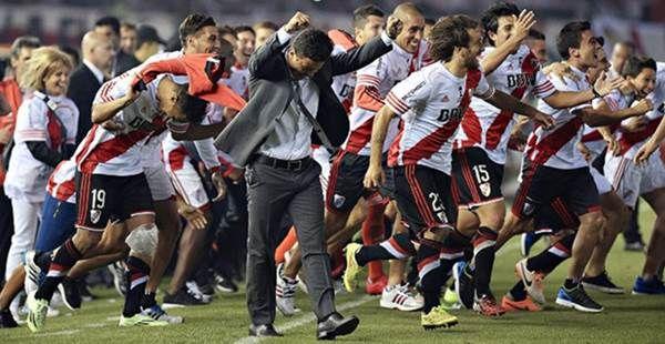 Lumat Tigres 3-0, River Plate Juara Copa Libertadores 2015