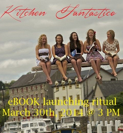 "eBook launching ritual! KITCHEN FANTATISCO is a true story about chaos in an ordinary life following a trauma and finding a way out to rebuild a new life in the spirit of victory and power. It is my own family story written from two perspectives: as a wife and as an Integrative Healing Consultant. I want to share our healing journey with all of you who may have heard similar news from your significant other ""I am terminated – no job!"""
