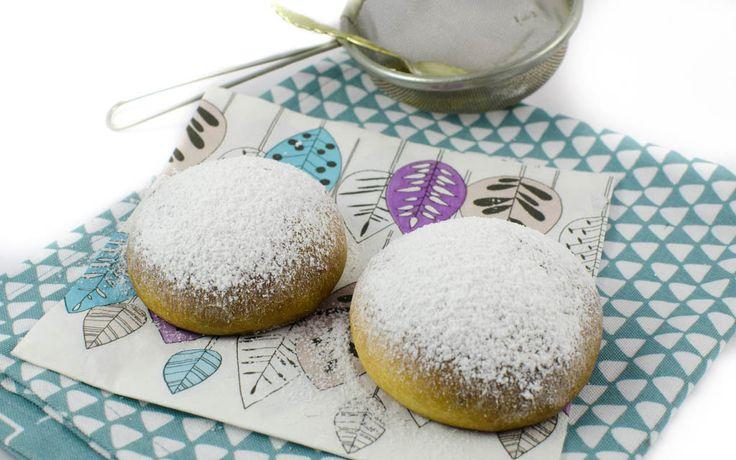 Ofen Krapfen gehören zur Faschingszeit einfach dazu! Mit diesem Rezept sind sie auch vegan und fettarm.