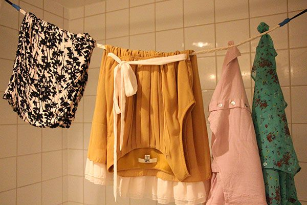 Pack a travel laundry line.  Think about your travel activities, destinations and style. Will you need a place to dry clothes? Will you be dealing with wet swimsuits and towels, or hand - washing clothes?