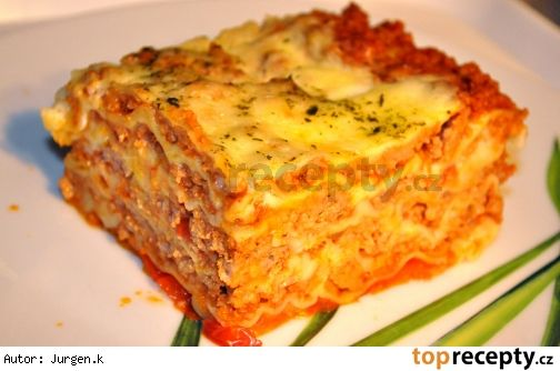 Domácí lasagne