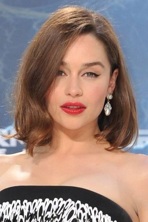 Emilia Clarke Steps Out With A Fresh New Bob At The Terminator Genisys Premiere, 2015