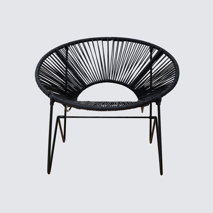 Acapulco Chair - Black & Black