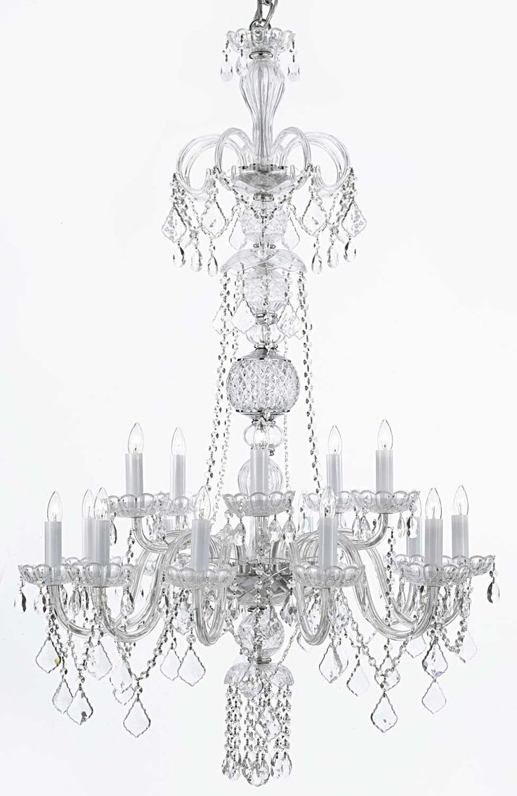 Murano gl floor lamp murano gl floor lamps 173 for at 1stdibs - G46 Clear 590 15 Gallery Closeout Crystal Chandelier