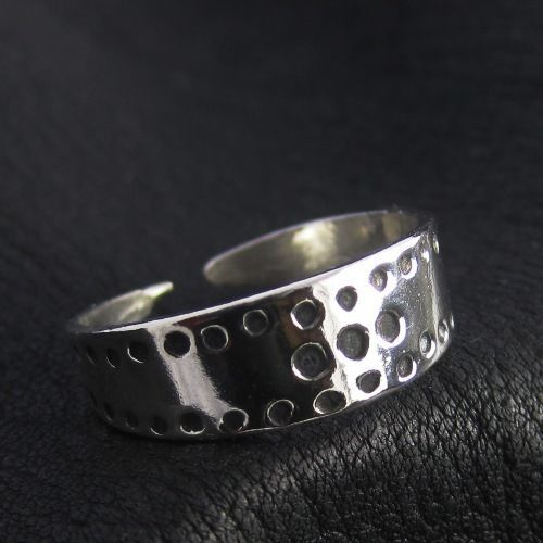 Silver Viking ring. Reenactment. Medieval. Norse. Scandinavia. SCA.